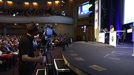 Vidéo résumé de la conférence ESRI, filmée au Steadicam