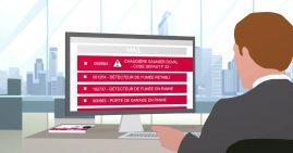 Vidéo pour le lancement de l'application de gestion à distance du matériel connecté de chauffage de la société Saunier Duval